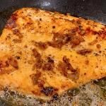 Salmon cooking