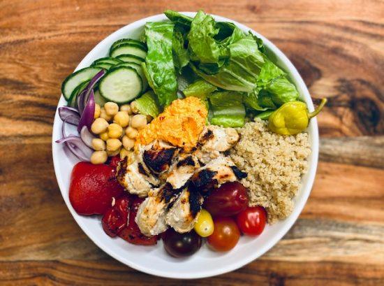 Healthy Mediterranean Bowls