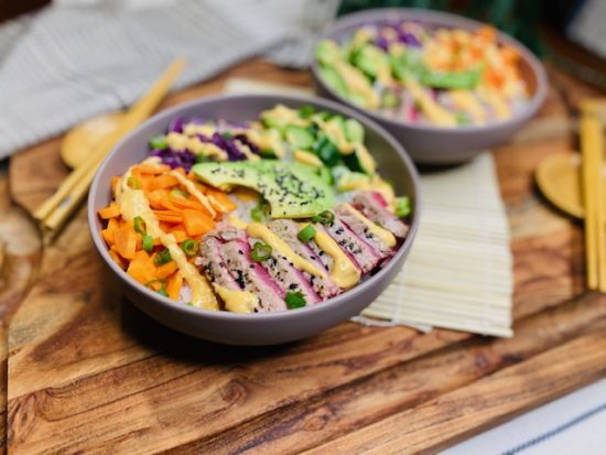 Easy Weeknight Sushi Bowls