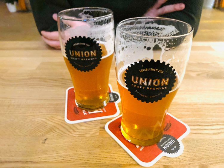 Union brewery beers