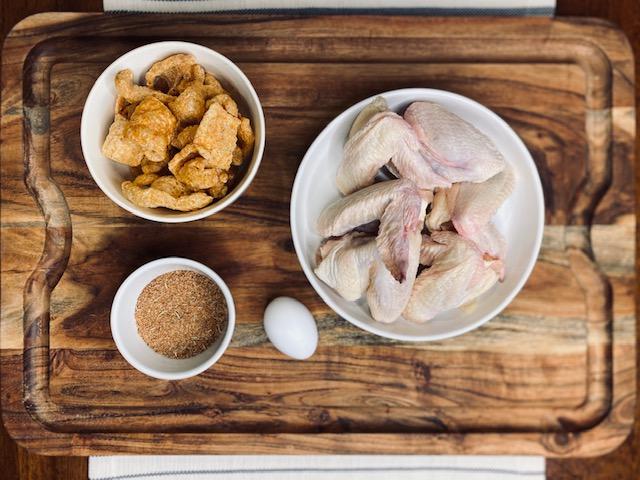 keto friendly breaded wings ingredients
