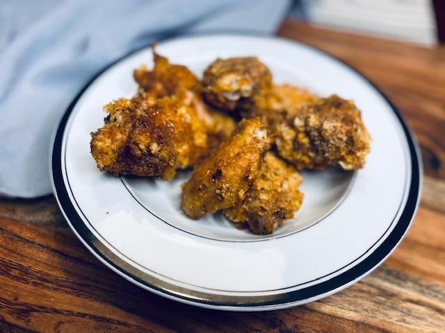 keto friendly breaded wings