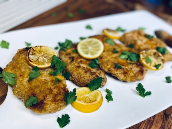 Easy German Pork Schnitzel