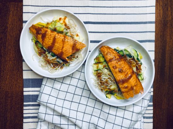 Simple Thai Salmon Salad