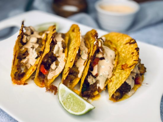 Classic Baked Tacos