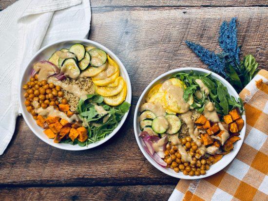 Harvest Quinoa Bowls