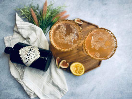 Vanilla Fig Gin Cocktail