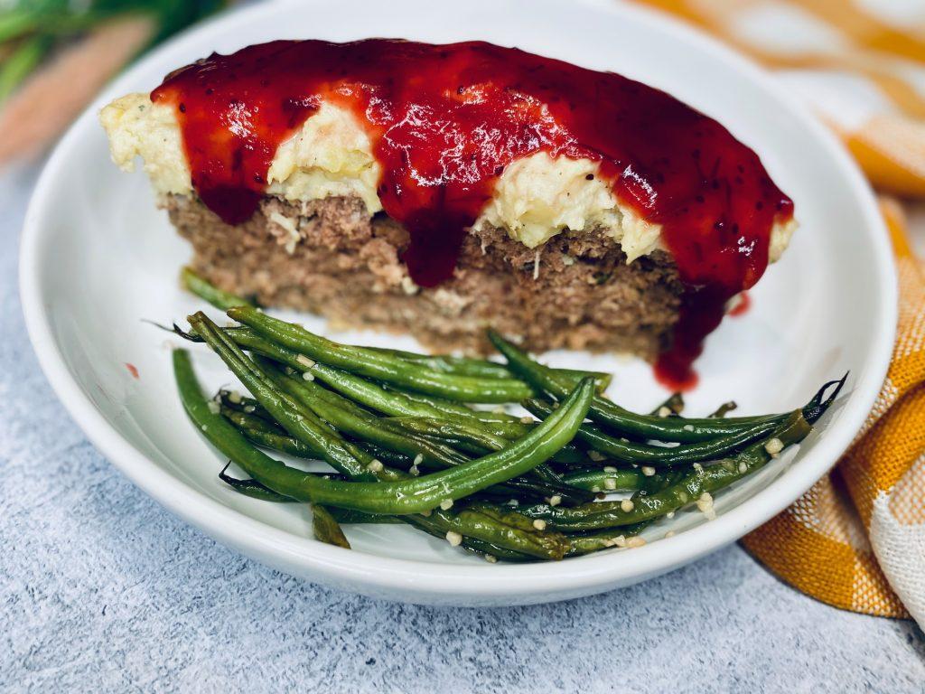 Slice of Thanksgiving Meatloaf