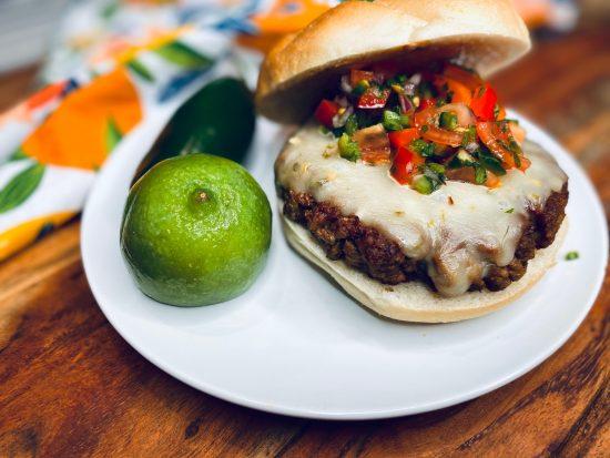 Impossible Meat Southwest Burger